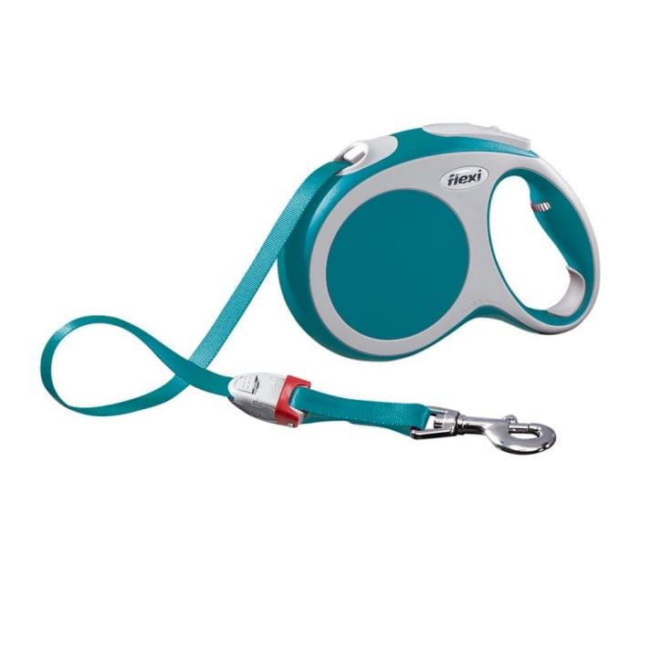 Flexi Vario Large Tape Dog Lead 5 Metres Turquoise