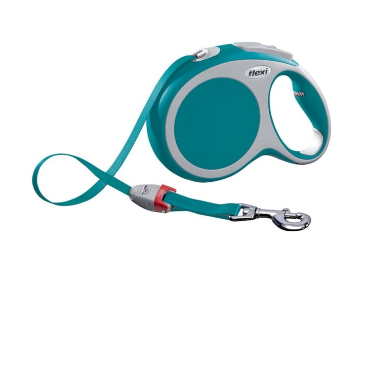 Flexi Vario Large Tape Dog Lead 8 Metres Turquoise