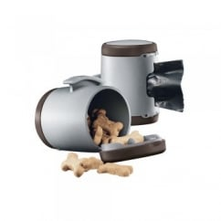 Flexi Vario Multi Box for Treats or Poop Bags - Brown