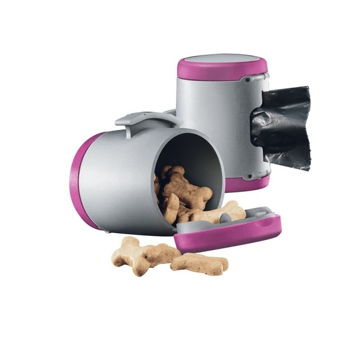 Flexi Vario Multi Box for Treats or Poop Bags - Pink