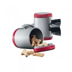 Flexi Vario Multi Box for Treats or Poop Bags - Red