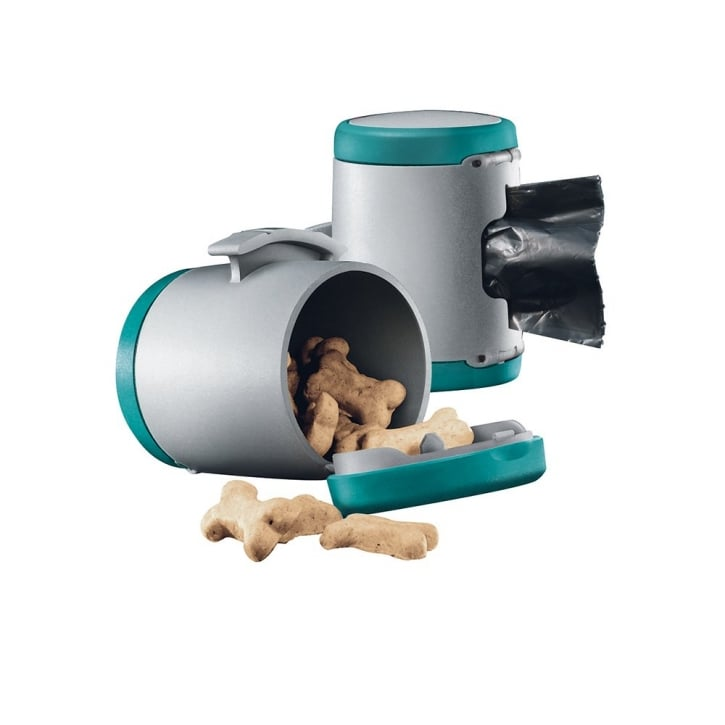 Flexi Vario Multi Box for Treats or Poop Bags - Turquoise