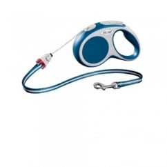 Flexi Vario Small Cord Dog Lead 5 Metres Blue