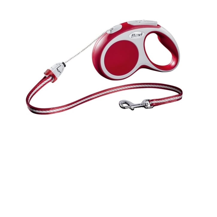 Flexi Vario Small Cord Dog Lead 5 Metres Red