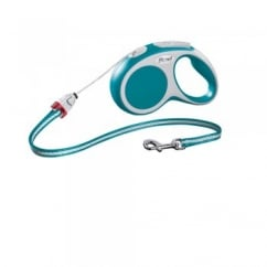 Flexi Vario Small Cord Dog Lead 5 Metres Turquoise