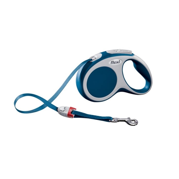 Flexi Vario Small Tape Dog Lead 5 Metres Blue