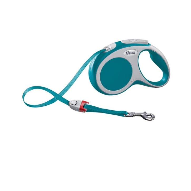 Flexi Vario Small Tape Dog Lead 5 Metres Turquoise