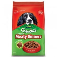 Foldhill Chewdles Complete Dog Meaty Dinners Beef 3kg