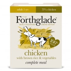 Forthglade Complete Adult Meal Chicken with Brown Rice & Vegetables 395g