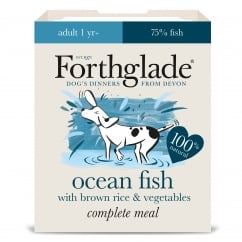 Forthglade Complete Adult Meal Ocean Fish with Brown Rice & Vegetables 395g