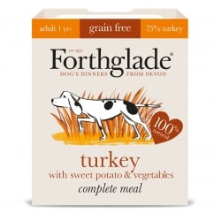 Complete Meal Grain Free Adult Turkey with Sweet Potato & Vegetables 395g