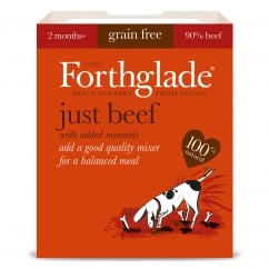 Forthglade Grain Free Just Beef With Added Minerals 395g
