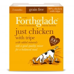 Forthglade Grain Free Just Chicken & Tripe With Added Minerals 395g