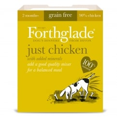 Forthglade Grain Free Just Chicken With Added Minerals 395g