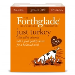 Forthglade Grain Free Just Turkey With Added Minerals 395g
