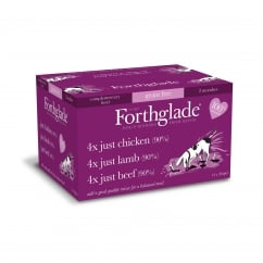 Forthglade Just Multicase (Chicken, Lamb & Beef) Grain Free 12 x 395g
