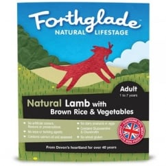 Natural Lifestage Adult Lamb with Brown Rice & Vegetables 395g