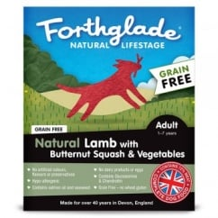 Natural Lifestage Grain Free Adult Lamb with Butternut Squash & Vegetables 395g