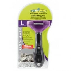 deShedding Tool Long Hair for Large Cats