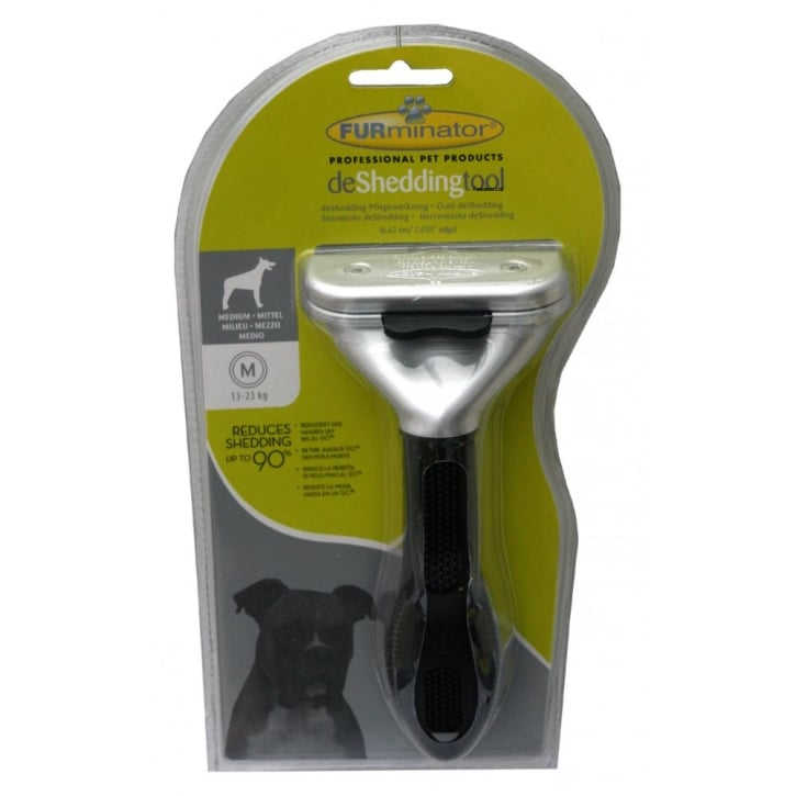 Furminator deShedding Tool Medium for dogs