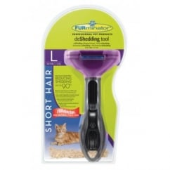 deShedding Tool Short Hair for Large Cats