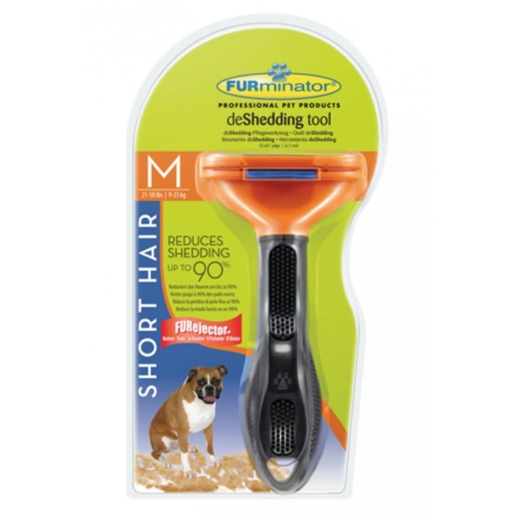 Furminator deShedding Tool Short Hair for Medium Dogs