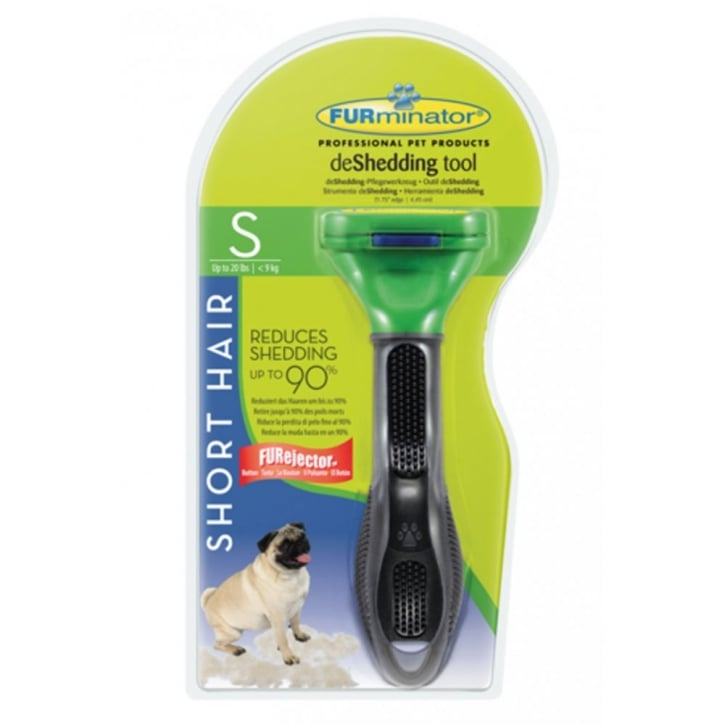 Furminator deShedding Tool Short Hair for Small Dogs