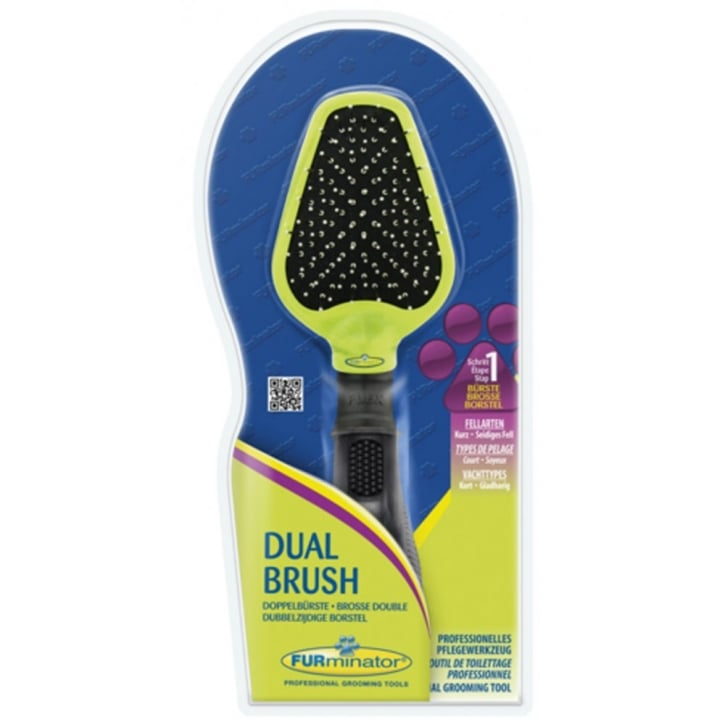 Furminator Dual Grooming Brush for Dogs