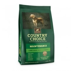 Country Choice Maintenance Lamb & Rice Adult Dog Food 2kg