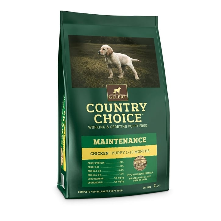 Gelert Country Choice Maintenance Puppy Chicken & Rice 2kg