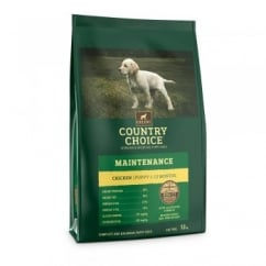 Country Choice Maintenance Puppy Chicken & Rice Dog Food 12kg