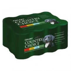 Gelert Country Choice Dog Cij - Variety 12pack 400gm
