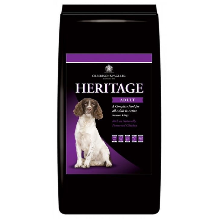 Gilbertson & Page Heritage Adult Dog Food Chicken 15kg