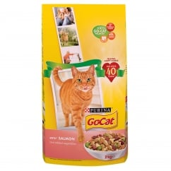 Go Cat Adult Cat with Salmon & Added Vegetables Dry Food 2kg
