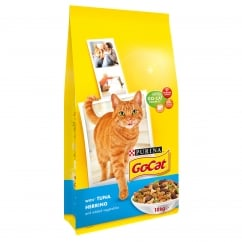 Go Cat Adult Cat with Tuna, Herring & Added Vegetables Dry Food 10kg