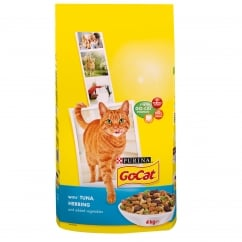 Go Cat Adult Cat with Tuna, Herring & Added Vegetables Dry Food 4kg