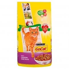 Go Cat Adult Dry Cat Food with Chicken and Duck 2kg