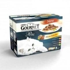 Gourmet Perle Pouch Delicate Meats Duo 12x85gm