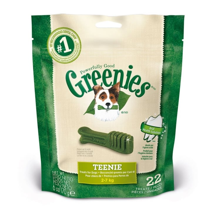 Greenies Dental Dog Treat Teenie Pack 22