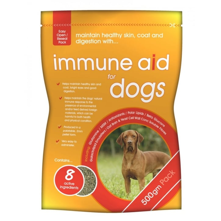 Gwf Nutrition Immune Aid for Dogs 500gm pouch