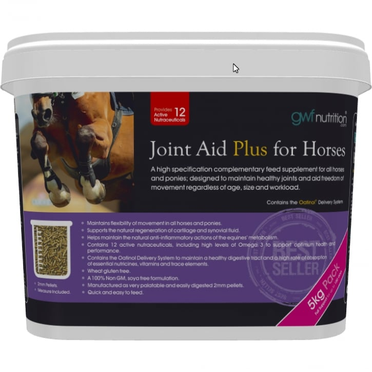 Gwf Nutrition Joint Aid Plus for Horses + Omega 3 & Oatinol 5kg