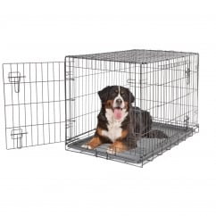 Dogit 2 Door Black Wire Dog Cage - Giant - Free Delivery