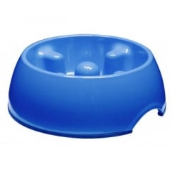 Dogit Anti-gulping Bowl Blue Small 300ml