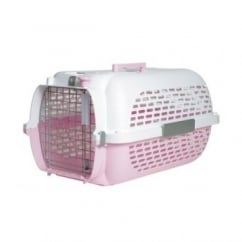 Dogit/catit Voyageur 100 Pet Carrier Small Pink & White