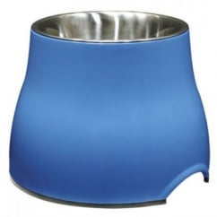 Dogit Elevated Dish Large Blue 900ml