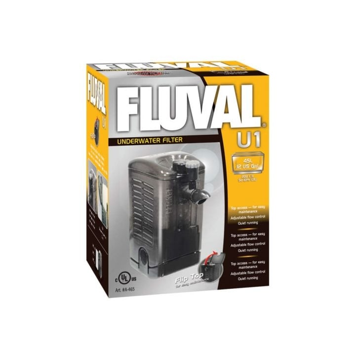 Hagen Fluval U1 Plus Underwater Filter 45litre - 12 Us Gall
