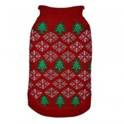 Cosy Christmas Knit Jumper with Festive Design 12