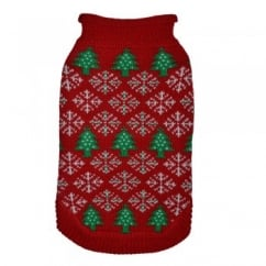 Cosy Christmas Knit Jumper with Festive Design 16