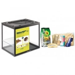 "Happy Pet Critter's Choice Small Animal Habitat Kit 16""x12""x14"" 1 shelf"