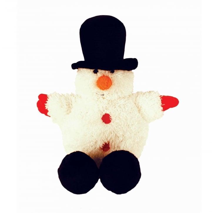 Squishy Ball Dog Toy : Happypet Festive Ball Buddy Snowman Soft Plush Dog Toy Feedem